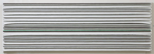 untitled, acrylic on board, 75x225 cm