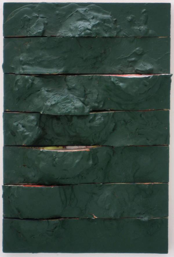 untitled, acrylic on board, 70x45 cm