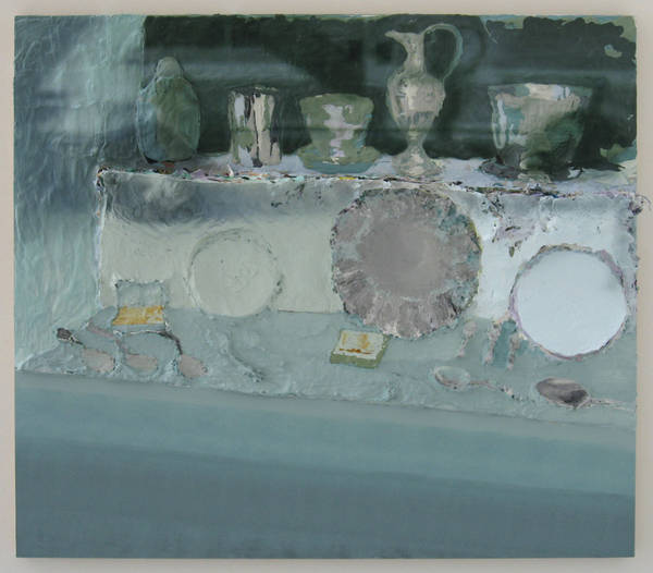 untitled, acrylic on board, 102x114 cm